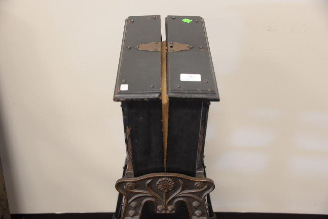 Victorian ebonized dictionary stand. ht. 36 in. - 3