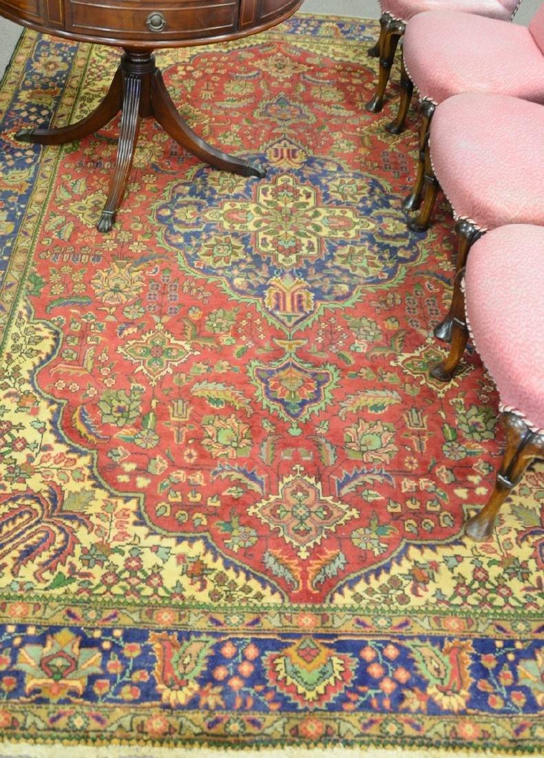 """Oriental area rug. 6'7"""" x 10'"""