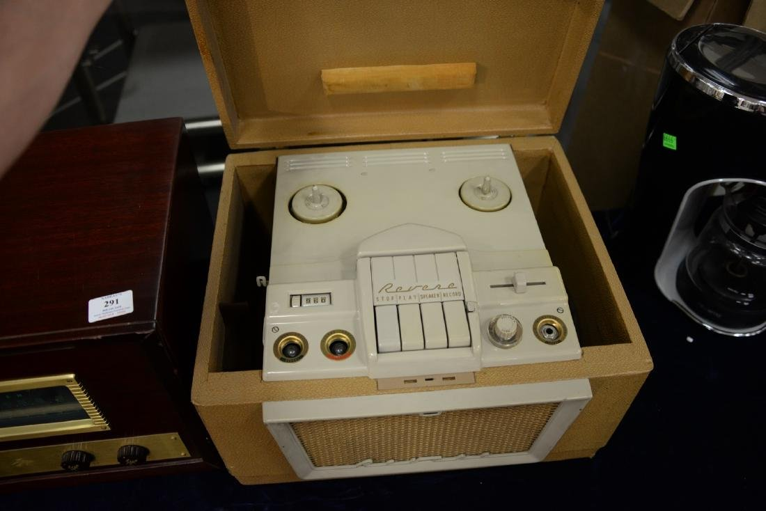 Revere magnetic tape recorder Reel to Reel along with - 2
