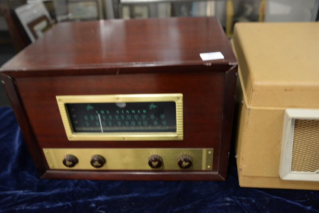 Revere magnetic tape recorder Reel to Reel along with - 3