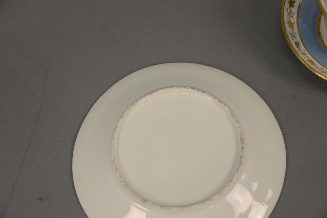 Thirty-six piece English dessert set with twelve cups, - 4