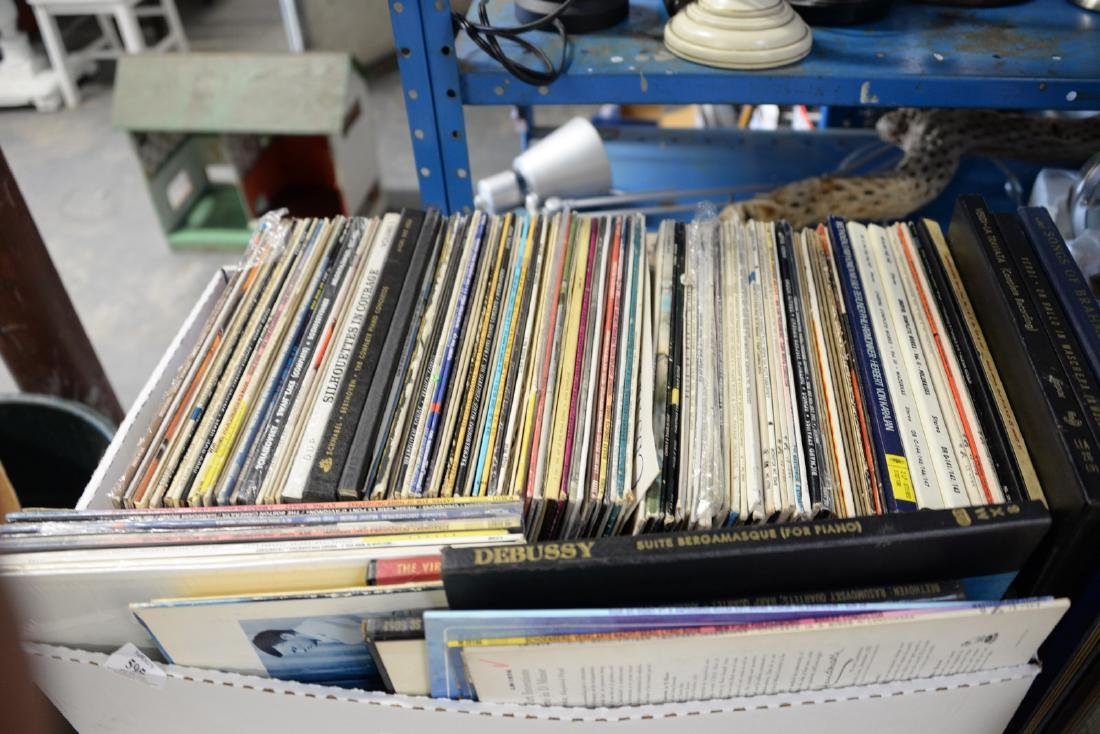 Large group of record albums, approximately 311. - 2