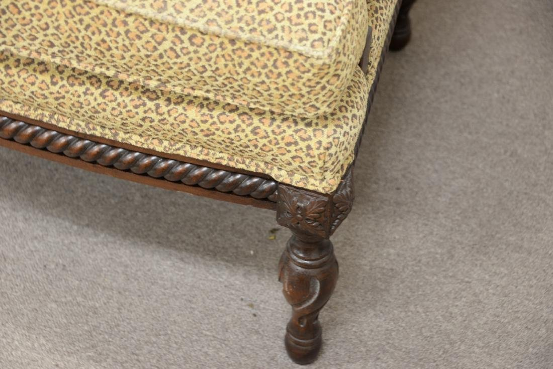 Pair of custom upholstered armchairs (excellent - 4