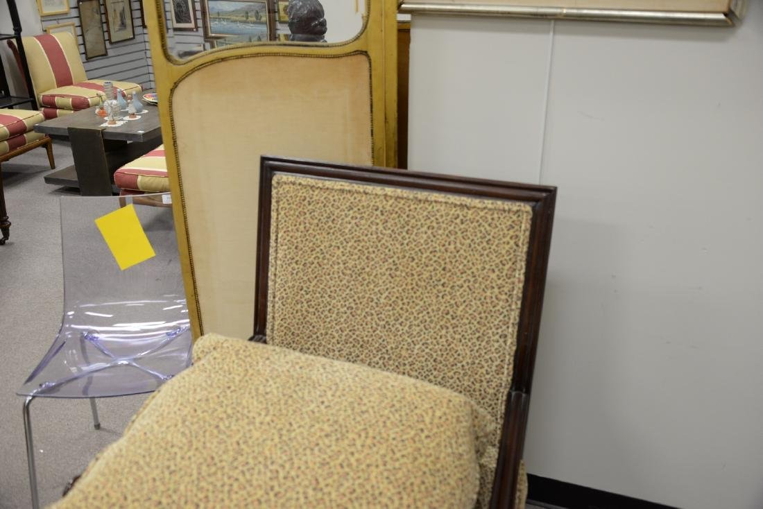 Pair of custom upholstered armchairs (excellent - 5