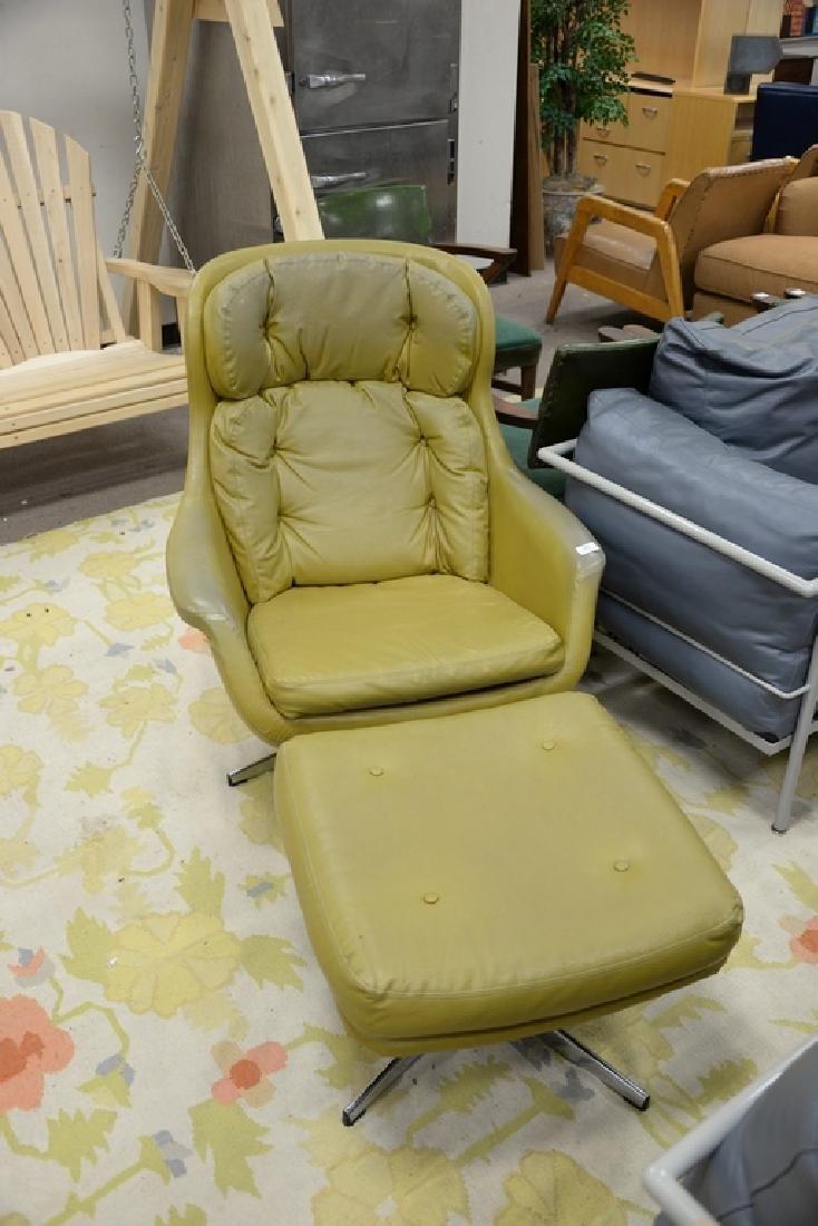 Overman lounge chair and ottoman, Sloan. - 2