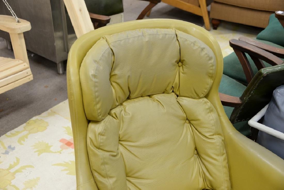 Overman lounge chair and ottoman, Sloan. - 3