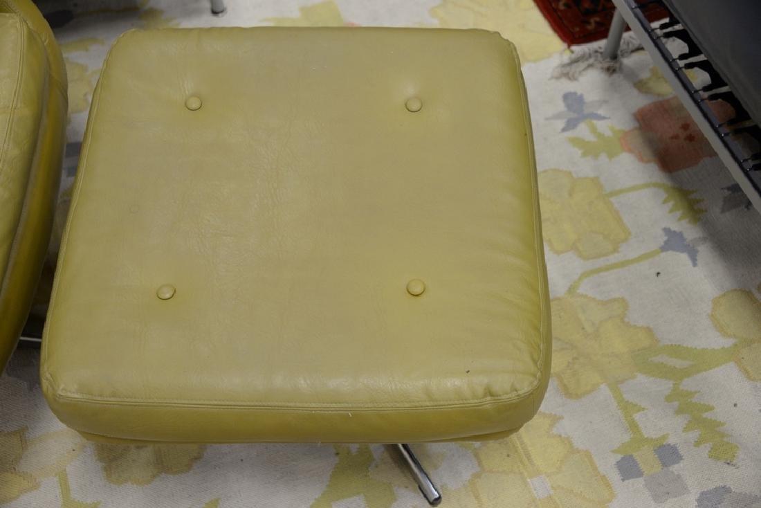 Overman lounge chair and ottoman, Sloan. - 4