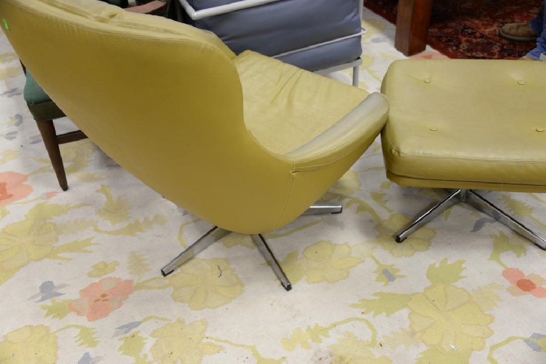Overman lounge chair and ottoman, Sloan. - 5