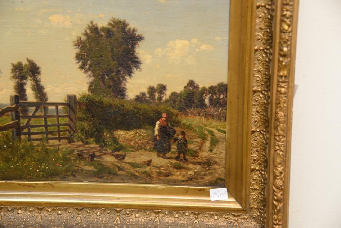 Emile Charles Lambinet (1815-1877) oil on panel, - 2