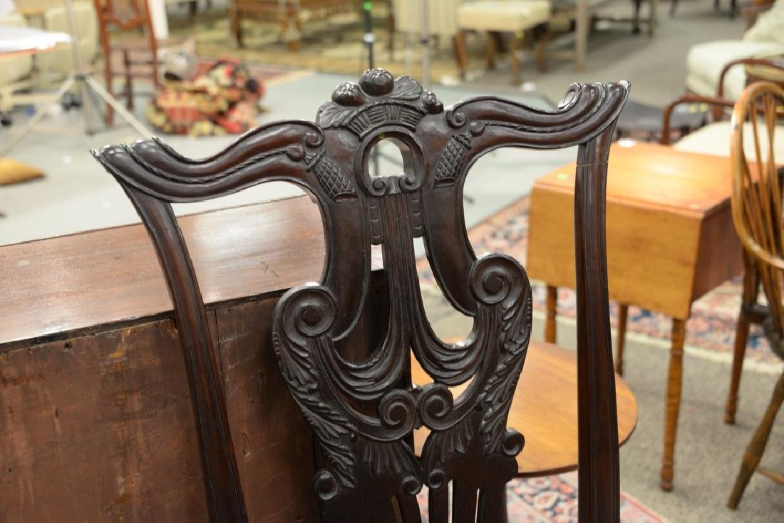 Chippendale style side chair. - 3
