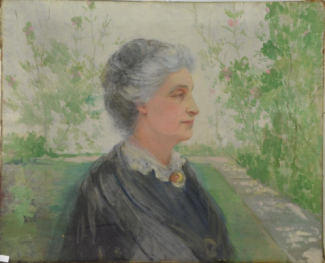 Attributed to Dorothy Ochtman (1892-1971) oil on