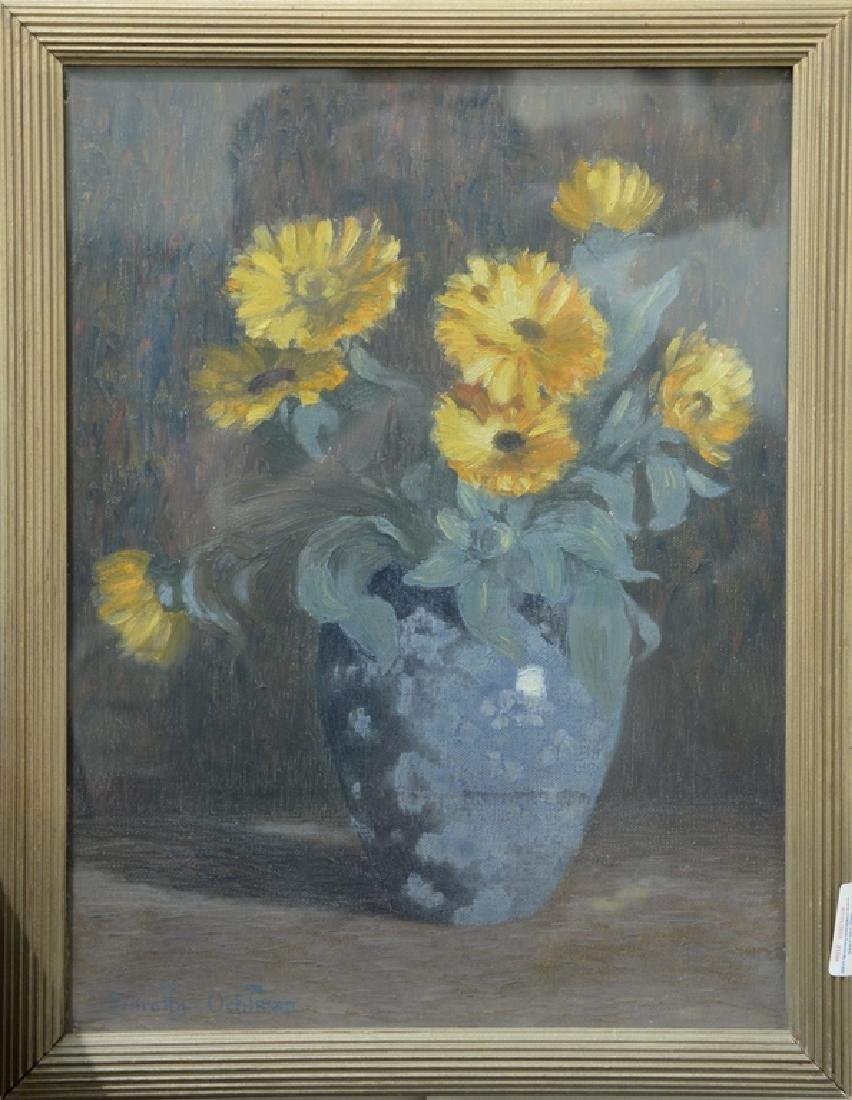 Dorothy Ochtman (1892-1971) oil on canvas, still life