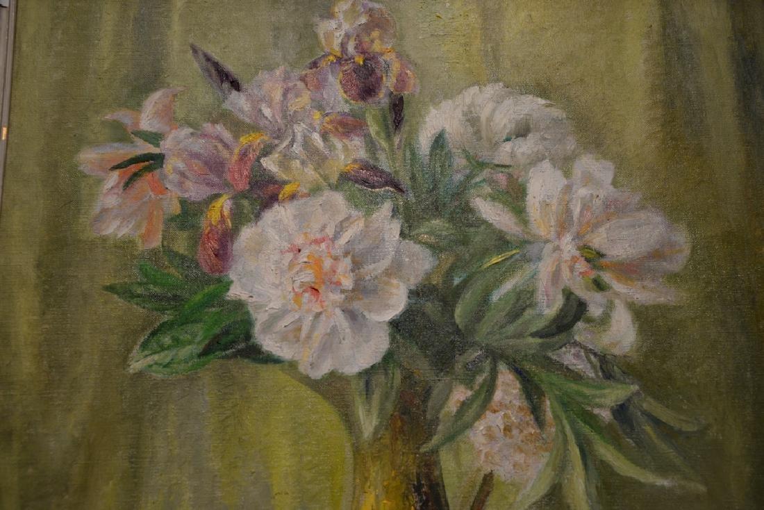 "Dorothy Ochtman (1891-1971) oil on canvas, ""Peonies - 2"