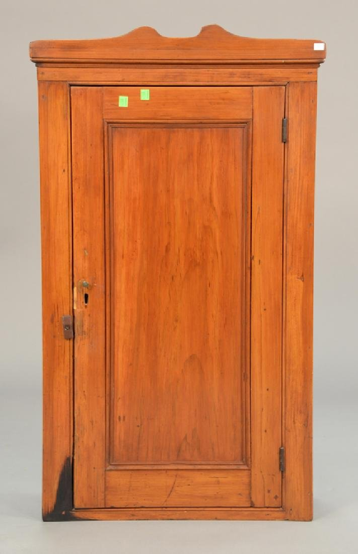 Primitive wall cabinet, early 19th century. ht. 38in.,
