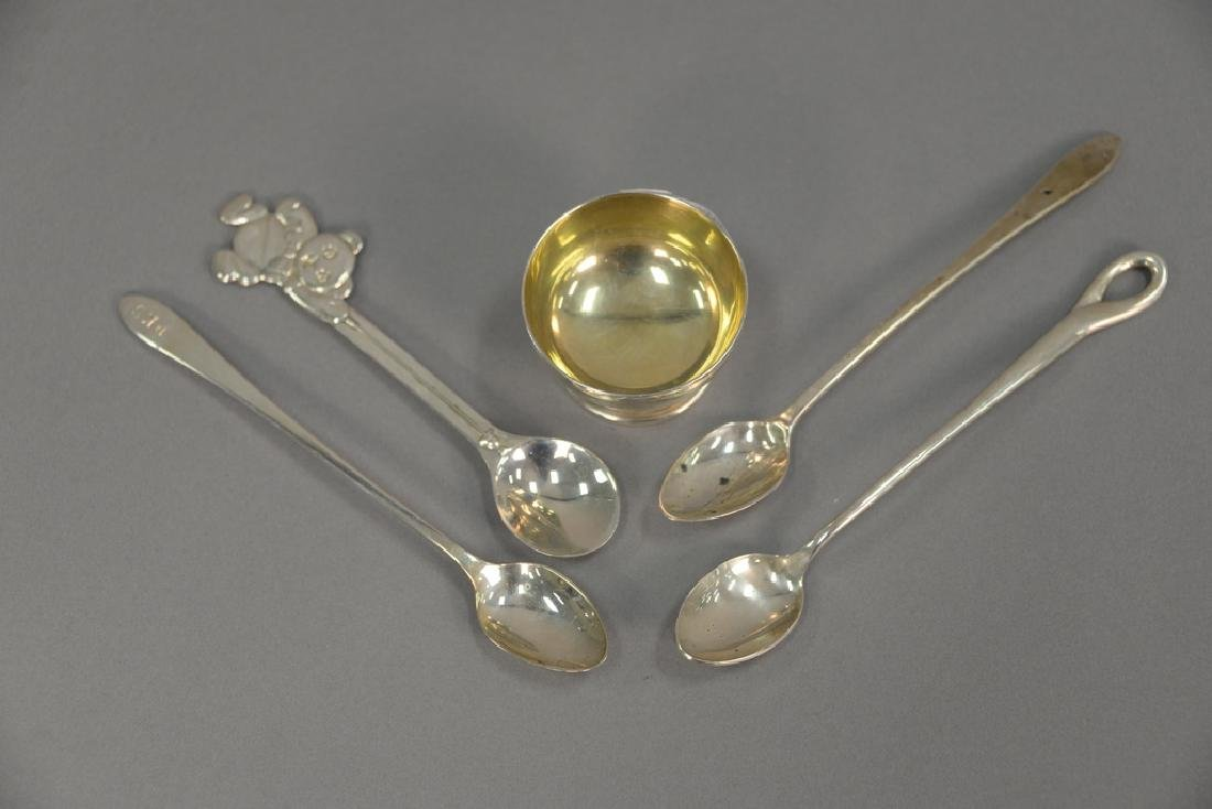 Tiffany sterling silver group to include pair of - 2