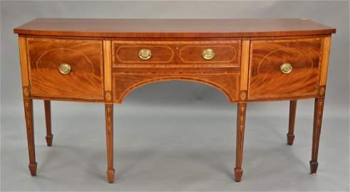 Baker Williamsburg mahogany George III style sideboard
