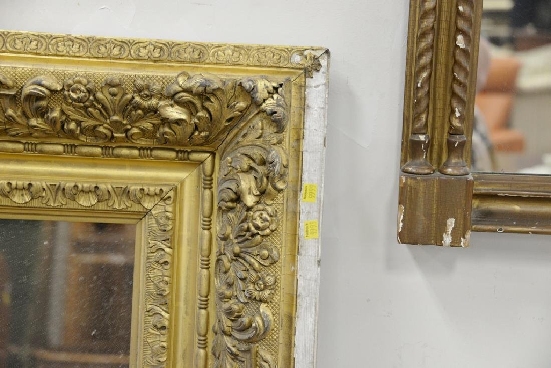 Three large framed mirrors to include large rectangle - 5
