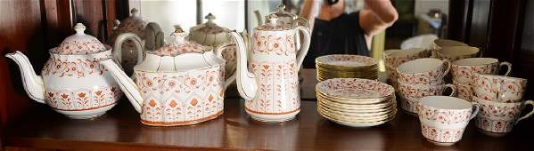 Royal Crown Derby porcelain nineteen piece lot