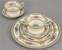 Wedgwood bone china dinnerware set setting for eight