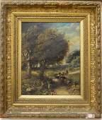Patrick Vincent Berry (1852-1922), oil on canvas,