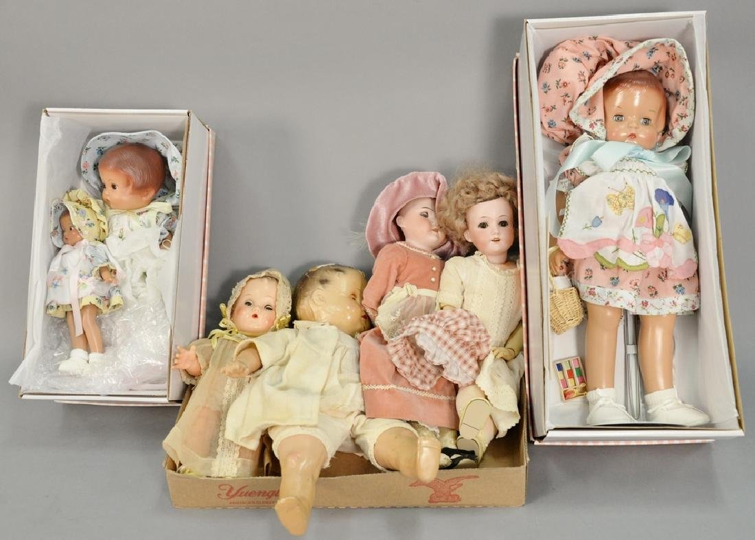 Group of Effanbee dolls in original boxes to include