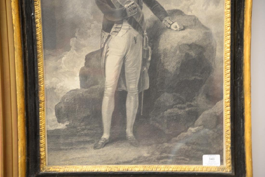 19th Century, engraving of Admiral Lord Nelson standing - 3