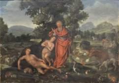 Jan I Van Kessel (Flemish, 1626-1679) oil on copper