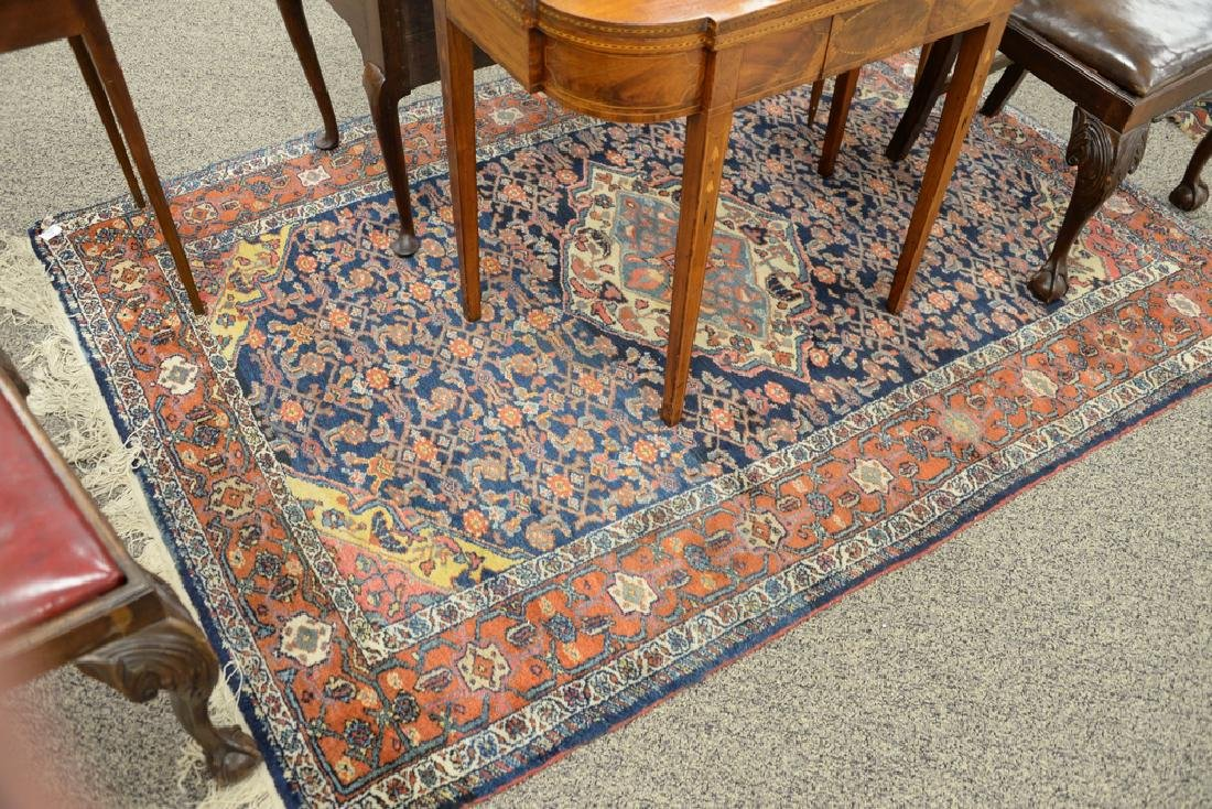 "Hamaden Oriental throw rug.  4'9"" x 6'8"" - 2"