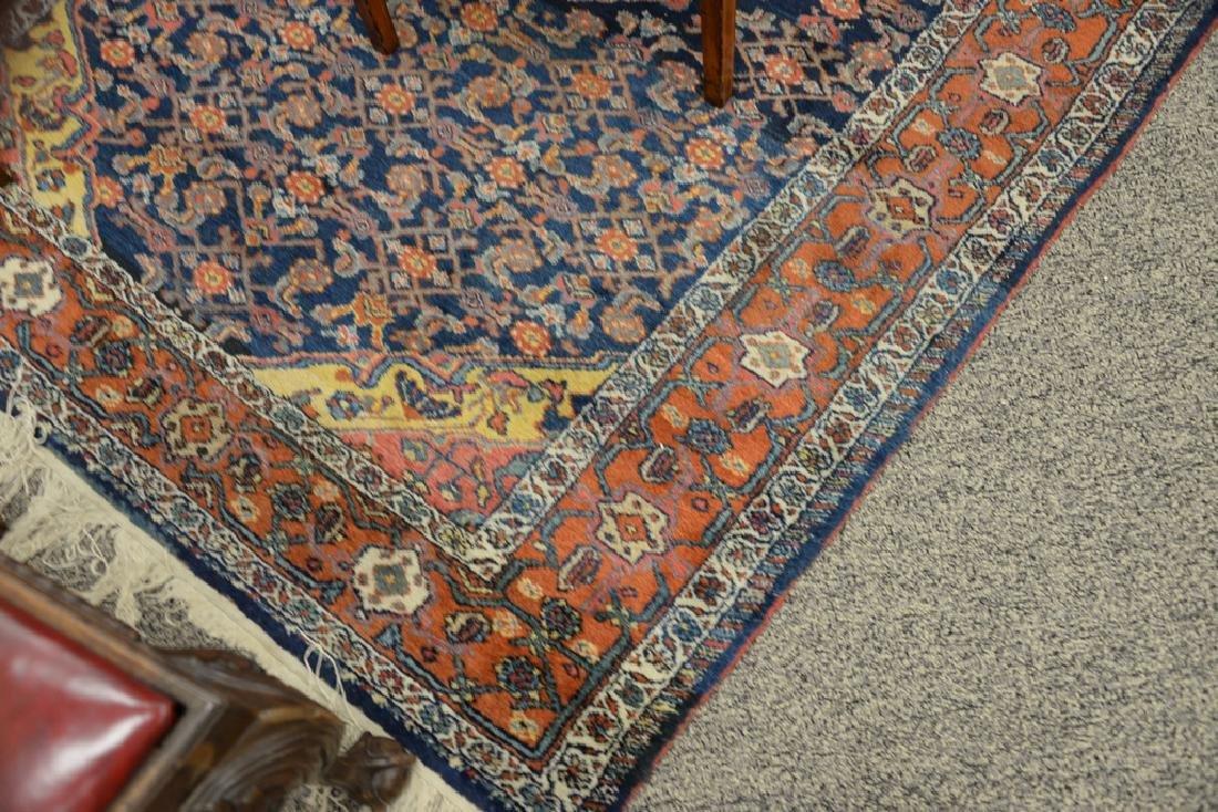 "Hamaden Oriental throw rug.  4'9"" x 6'8"" - 3"