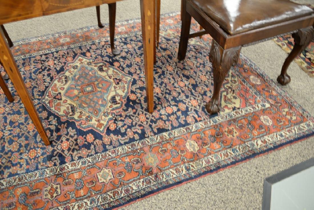 "Hamaden Oriental throw rug.  4'9"" x 6'8"" - 4"