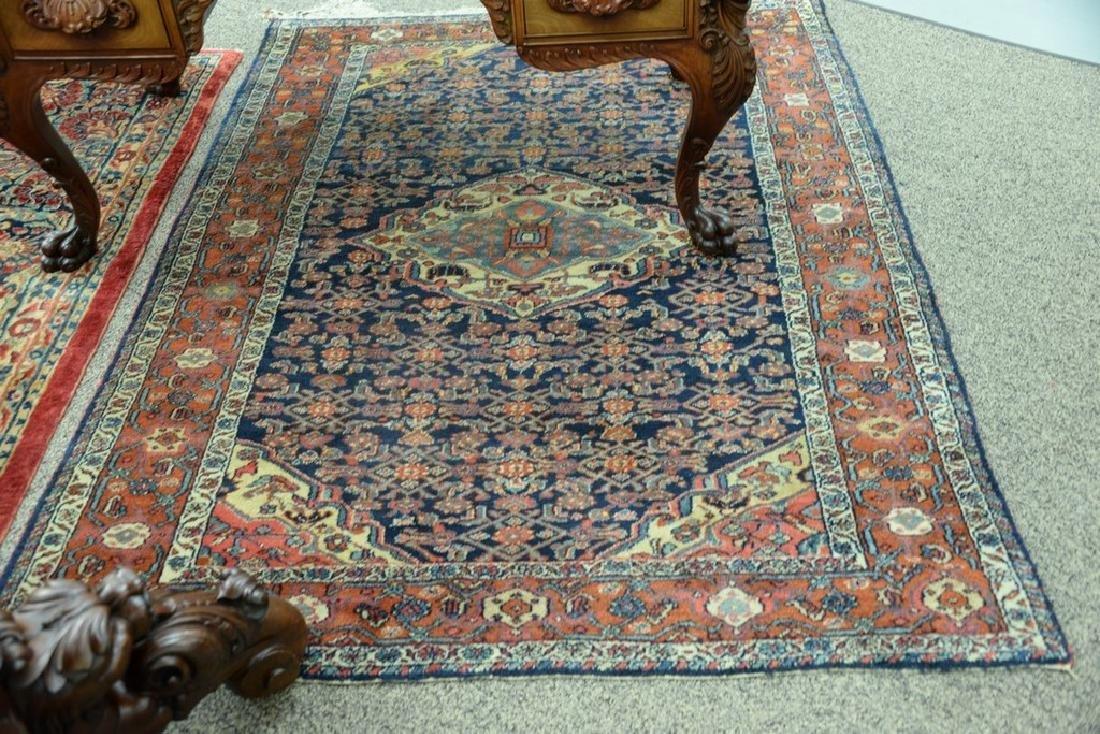 "Hamaden Oriental throw rug.  4'9"" x 6'8"" - 5"