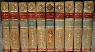 Set of ten volumes, Novels of the Sisters Bronte Works,