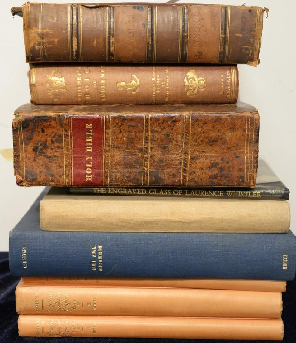 Eight books to include Friedrich H. Hoffman: History of