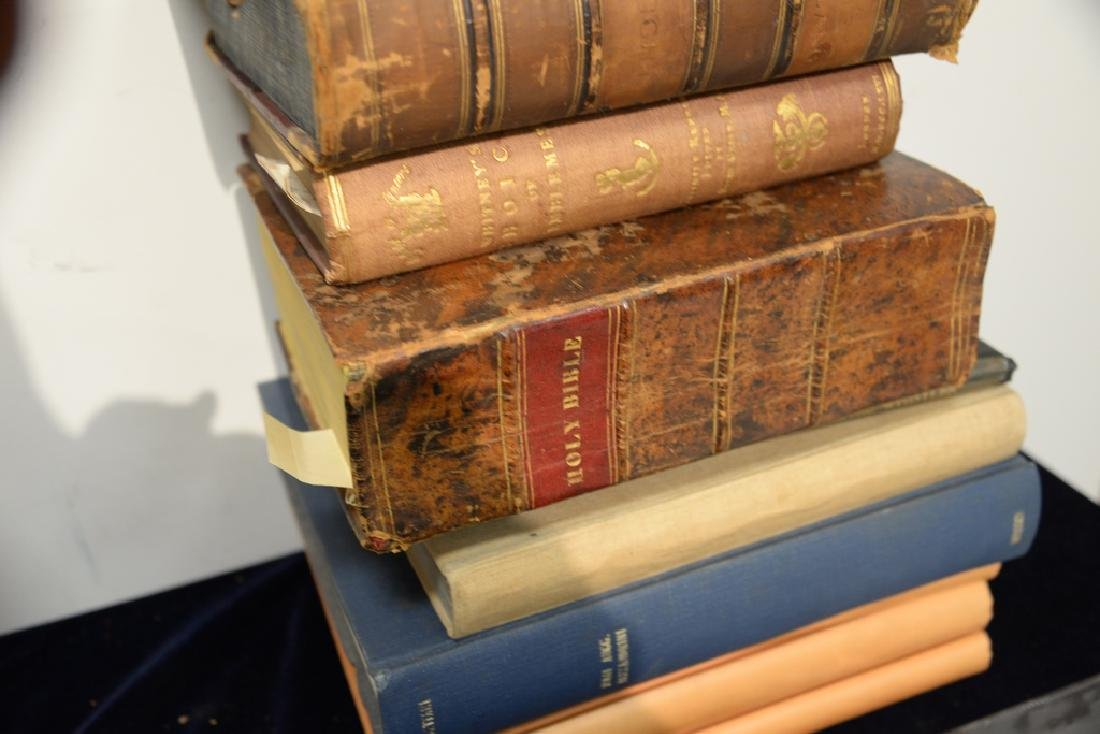 Eight books to include Friedrich H. Hoffman: History of - 2