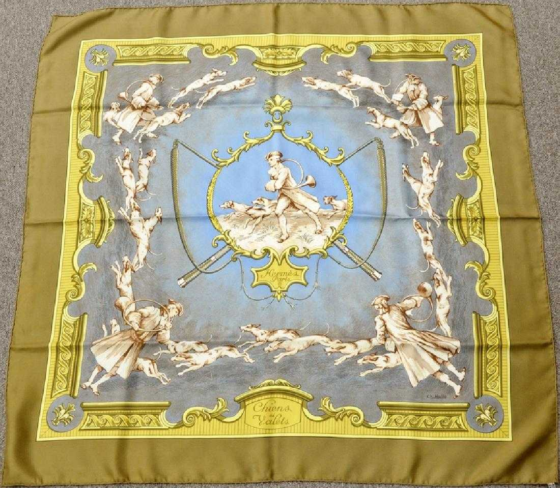 abfc9689a9e4 Hermes silk scarf