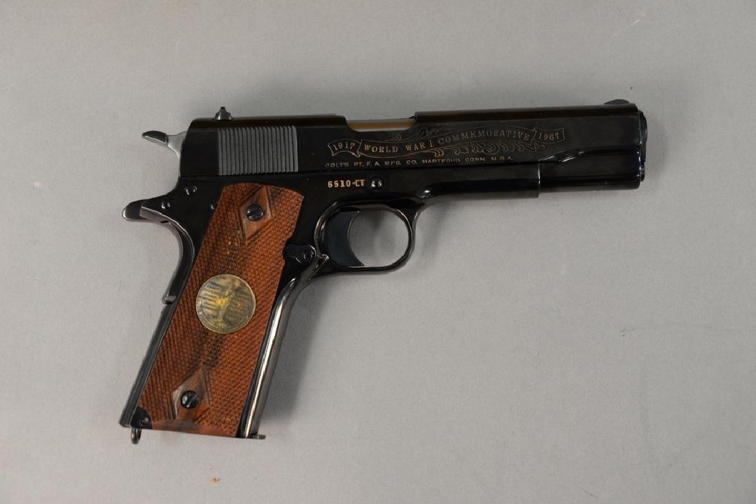 Colt, limited edition, World War I Commemorative,