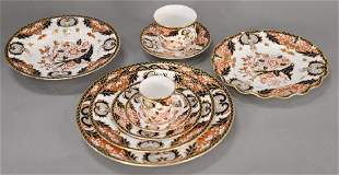 Royal Crown Derby large dinnerware set, setting for
