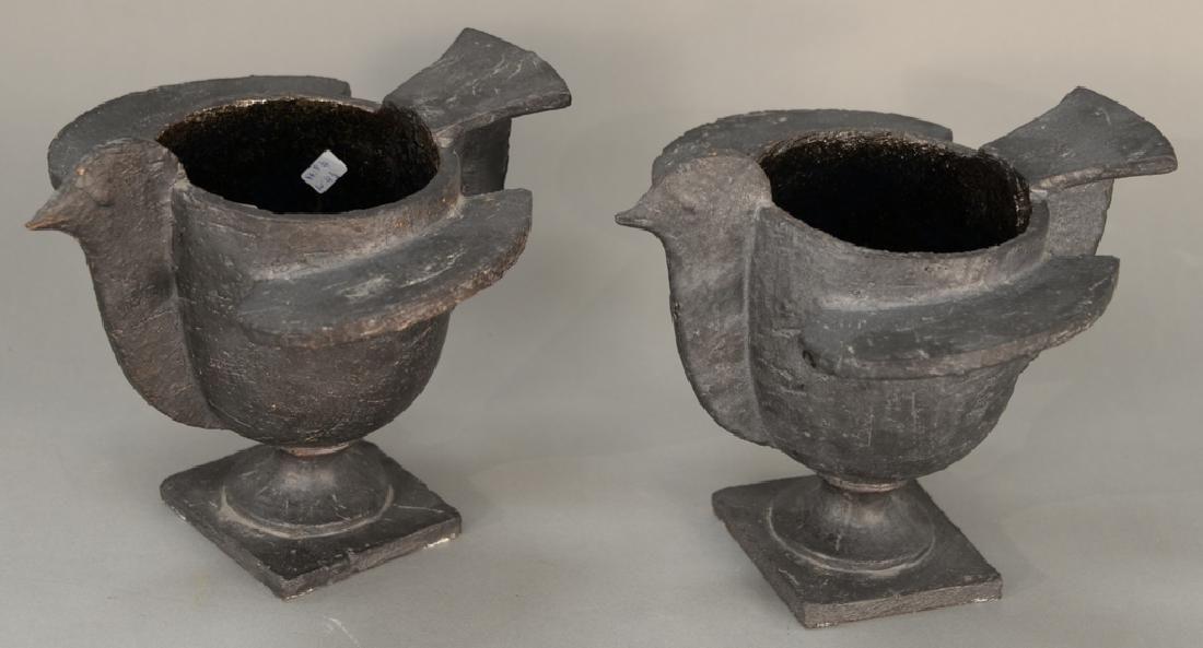Pair of Francois Xavier Lalanne (1927-2008), cache-pot