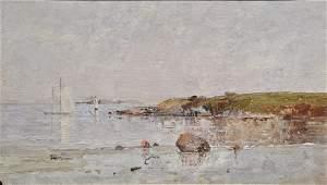 Charles Edwin Lewis Green (1844-1915), oil on board,