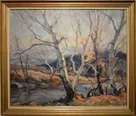 Emile Albert Gruppe (1896-1978), oil on canvas,