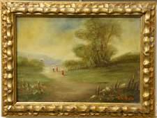 Victor Alfred Paul Vignon (1847-1909), oil on canvas,