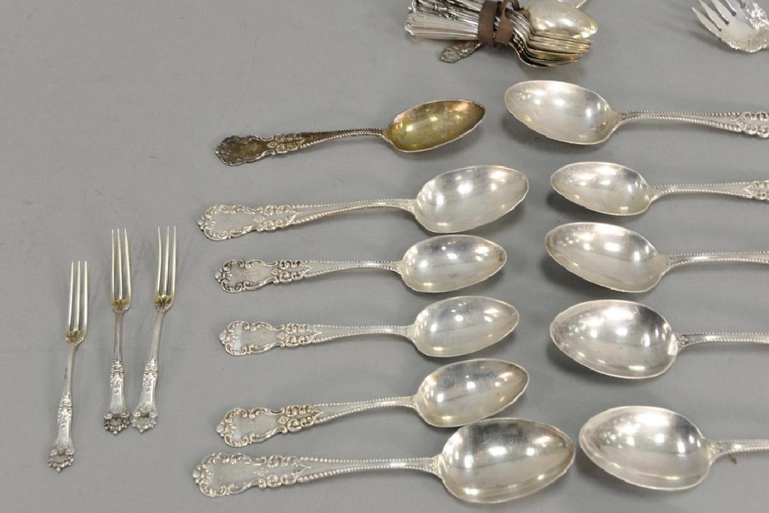 Sterling silver lot including demitasse spoons - 2