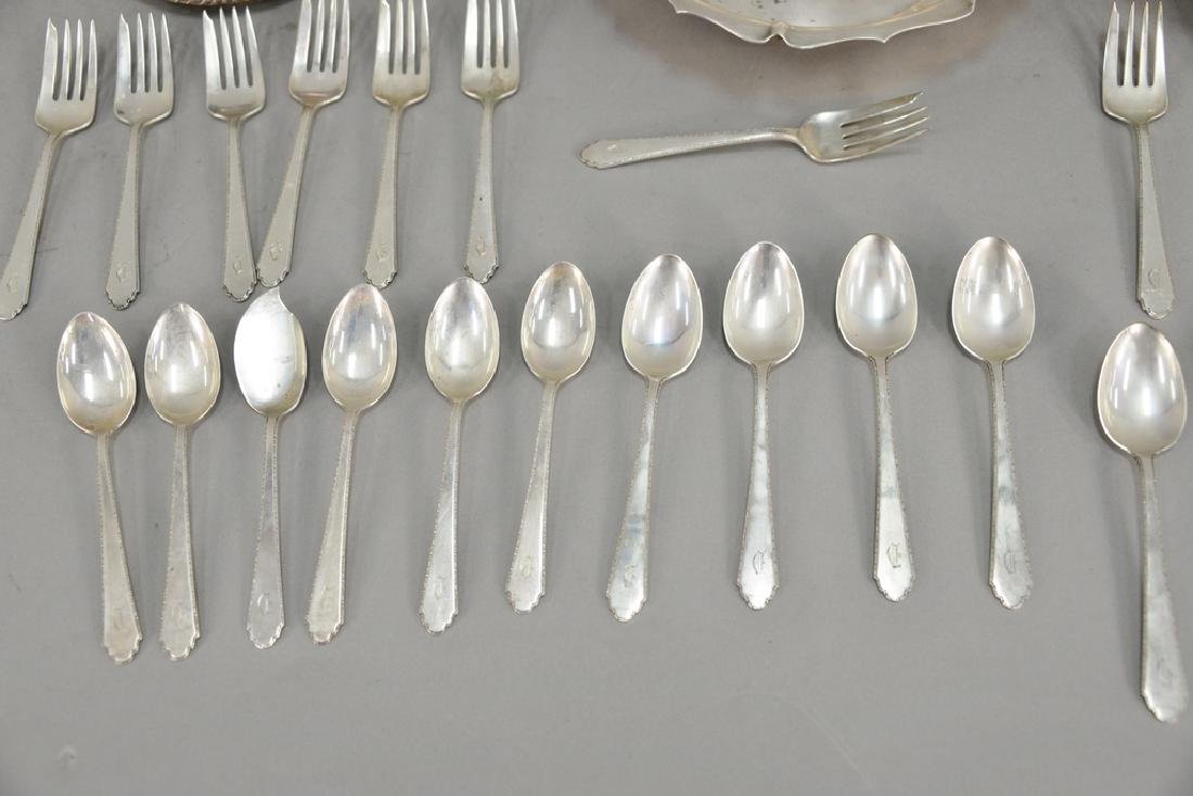 Sterling silver lot to include three bowls and - 3