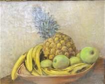 Walt Francis Kuhn (1877-1949), oil on canvas, still