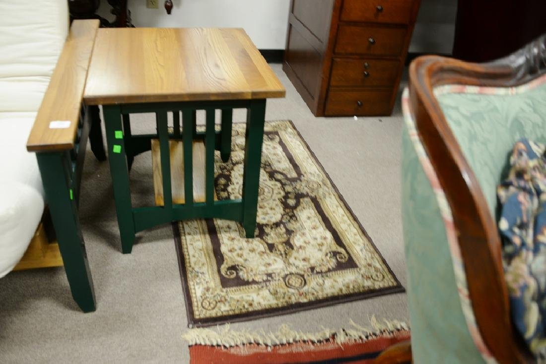 Three Oriental rugs to include an area rug and two - 3
