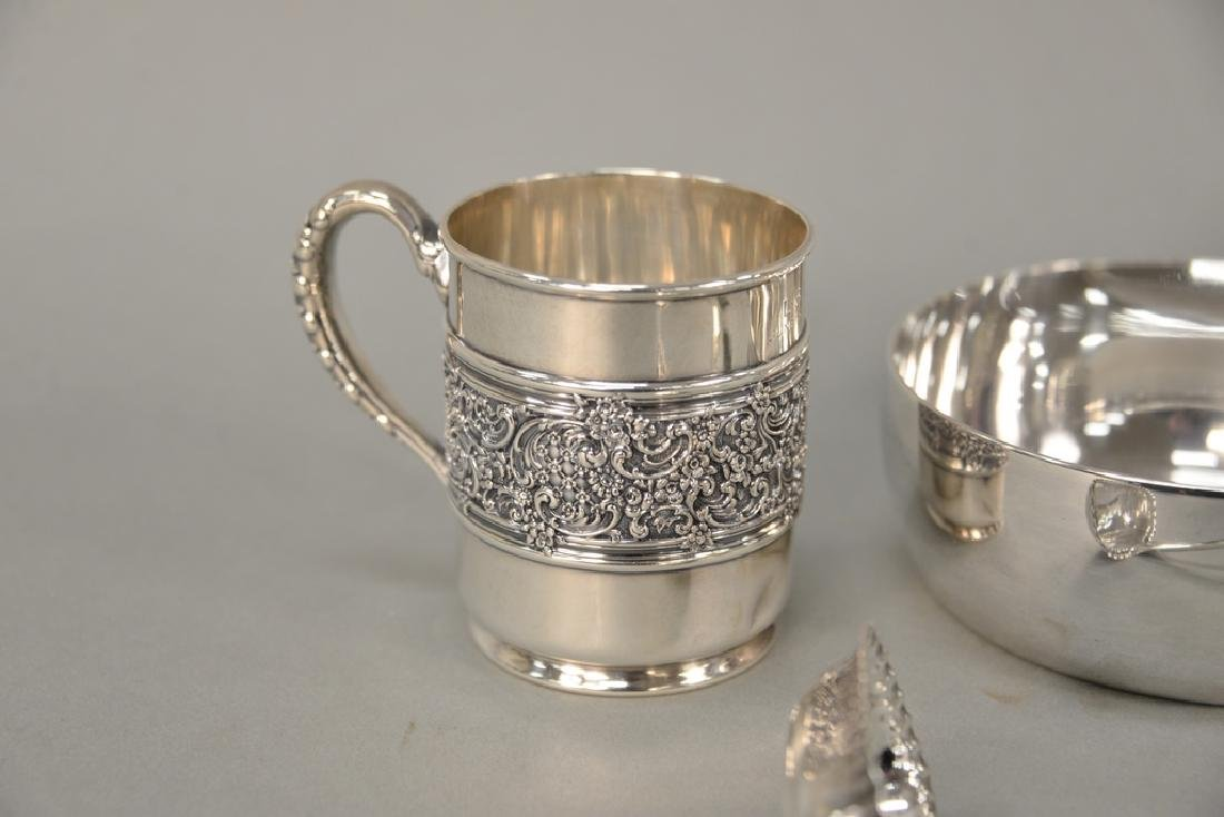 Tiffany & Co. four piece lot with mug, ladle, and two - 2