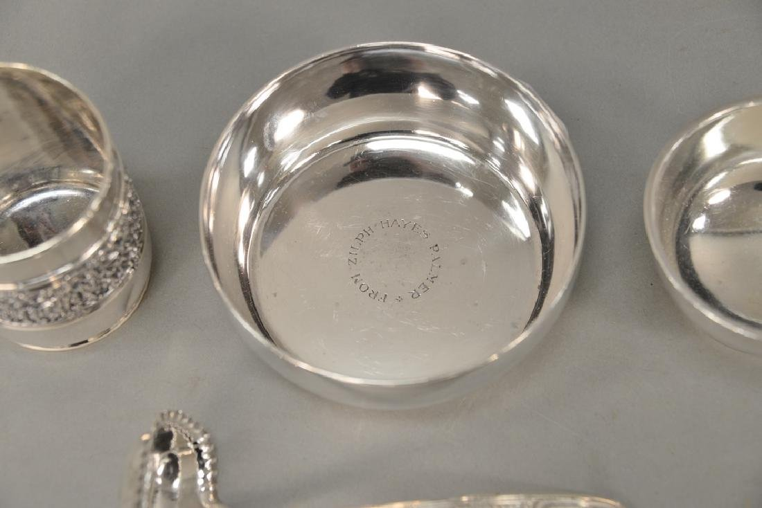 Tiffany & Co. four piece lot with mug, ladle, and two - 4
