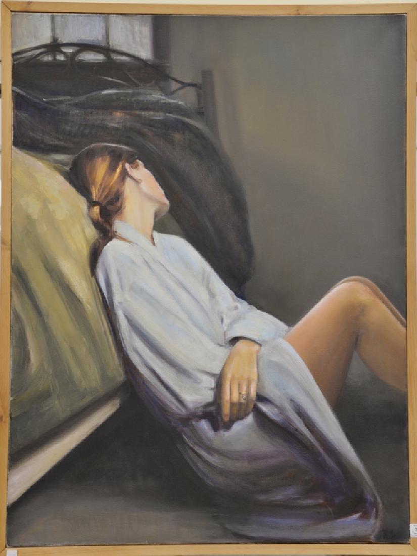 Rebekah Elaine Spencer, oil on canvas, untitled II,
