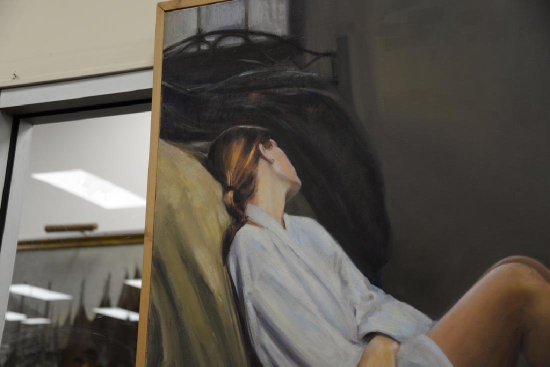 Rebekah Elaine Spencer, oil on canvas, untitled II, - 3