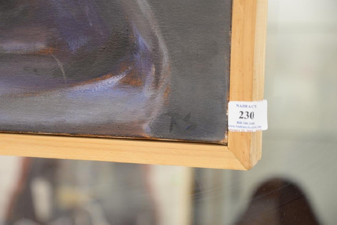 Rebekah Elaine Spencer, oil on canvas, untitled II, - 5